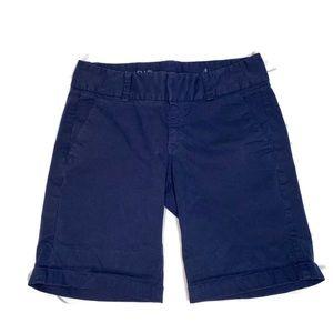 J.Crew Navy Andie Shorts Size 4